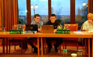 Moritz Regenspurger und Felix Oswald analysierten die aktuelle Situation