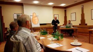 Stephan Schink und Rainer Wachsmann moderierten die Klausurtagung